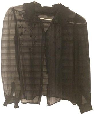 Emmanuelle Khanh Black Top for Women Vintage