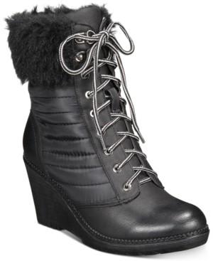 Zigi Ames Wedge Booties Women's Shoes