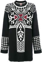 I'M Isola Marras oversized intarsia jumper