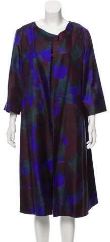 Lanvin Vintage Floral Print Dress Set