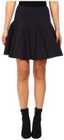 RED Valentino Scuba Jersey Skirt