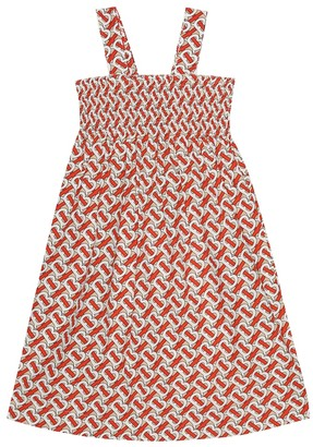Burberry TB cotton dress