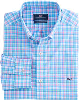 Vineyard Vines Tiki Bar Performance Classic Tucker Shirt
