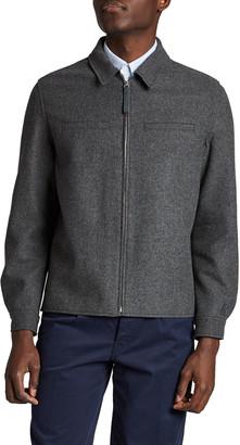 Kenzo Men's Flannel Simple Zip Jacket