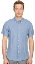 Billy Reid Short Sleeve Tuscumbia Shirt Men's Short Sleeve Button Up