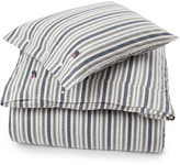 Lexington Company Lexington Flannel Stripe Duvet White/Grey/Blue 140x200cm