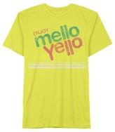 Hybrid Tees Men's Enjoy Mello Yellow T-Shirt Yellow