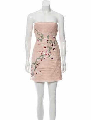 Alexis Silk Mini Dress w/ Tags Pink