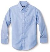 French Toast Boys' Long Sleeve Oxford Shirt