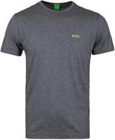 Boss Green Grey Marl Crew Neck T-shirt