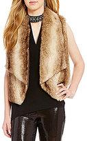 BB Dakota Julius Open Front Faux-Fur Vest