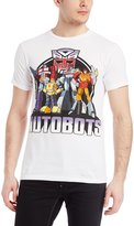 Hybrid Men's Transformers Autobot Lineup T-Shirt