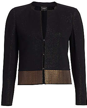 Akris Women's Denisha Lurex Jacket