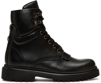 Moncler Black Patty Ankle Boots