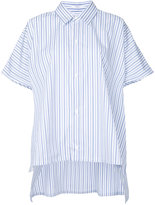 ASTRAET striped shortsleeved shirt - women - Cotton - One Size