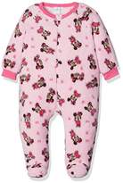Disney Baby Girls' Minnie Mouse Hearts Romper