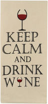 METRO FARMSHOUSE BY PARK B SMITH Park B. Smith Keep Calm, Drink Wine Set Of 2 Kitchen Towels