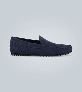 Tod's Gommino suede City driving shoes