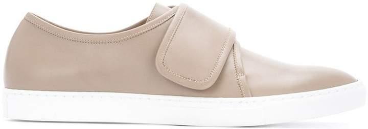 Cerruti cross strap sneakers