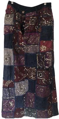 Jean Paul Gaultier Multicolour Denim - Jeans Skirts