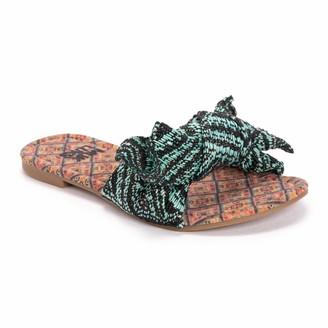 Muk Luks Women's Slip on Style Sandal
