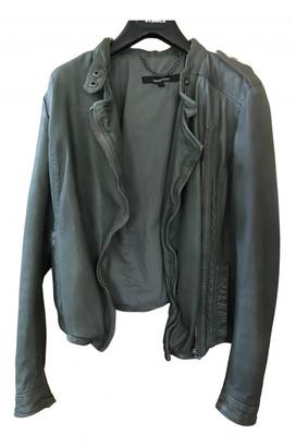 Muu Baa Muubaa Green Leather Leather jackets