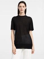Calvin Klein Extrafine Cashmere Oversized T-Shirt