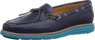 Chung Shi Women's Sensomo Iv Low-Top Sneakers Blue (Navy/Turquoise) 6/6.5 UK