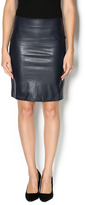 Bishop + Young Leatherette Pencil Skirt