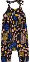 Anthem of the Ants Infants' Abstract-Print Cotton Halterneck Romper