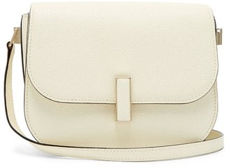 Valextra Iside Cross-body Grained-leather Bag - White