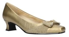 Easy Street Shoes Rejoice Bow Pumps Women's Shoes