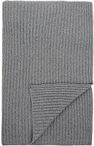 Barneys New York Rib-Knit Cashmere Throw