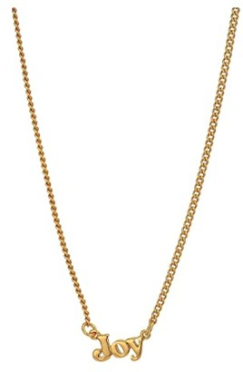 ban.do 24K Gold Plated Good Intentions Necklace (Gold/Joy) Necklace