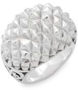 Lois Hill Sterling Silver Puff Ring