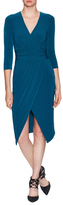 Rachel Roy Slid Tricot Jersey Knee Length Dress