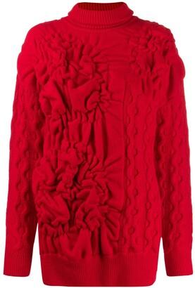 Simone Rocha textured knitted jumper