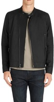 J Brand Endako Leather Jacket in Matte Black