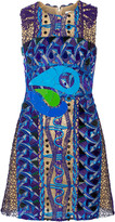 Peter Pilotto Opus embellished guipure lace mini dress