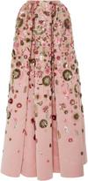 Zac Posen Translucent Garden Skirt
