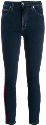 Calvin Klein Jeans cropped skinny-fit jeans