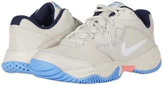 Nike Court Lite 2 (White/Metallic Silver/White) Women's Tennis Shoes