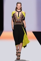 BCBGMAXAZRIA Runway Nasha Color-Blocked Dress