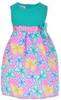 """Real Love Little Girls' Toddler """"Poplin Butterflies"""" Dress"""