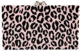 Charlotte Olympia NIB Pink Perspex Leopard Print Leopard Pandora Handbag $1195