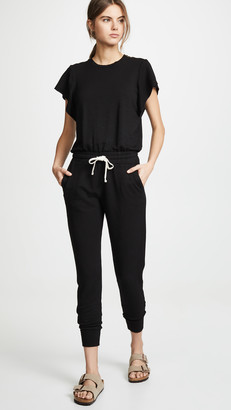 Monrow Supersoft Cap Sleeve Jumpsuit