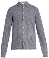 Massimo Alba Crocket Point-collar Linen Shirt
