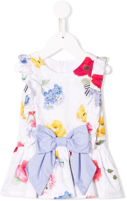 Lapin House Sleeveless Floral Print Dress