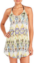 Hawaiian Tropic Ikat Print Burnout Cover-Up