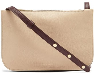 Mansur Gavriel Double Leather Cross-body Bag - Beige Multi